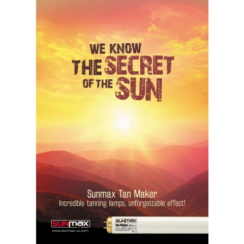"""Poster Sunmax """"We Know The Secret Of The Sun"""""""
