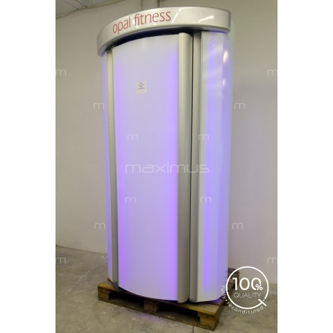 Vertical solarium Tanzi Opal Fitness White Led