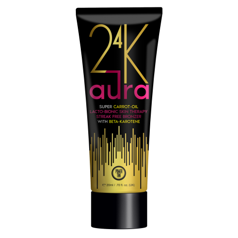 Power Tan - 24K Aura Super Carrot Oil Accelerator 250ml - New for 2020