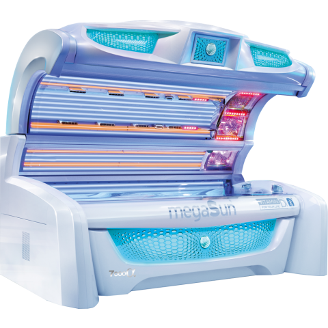 Sunbed megaSun 7000 Alpha Intellisun