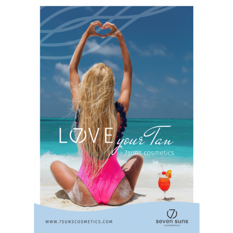 Poster Love your tan A3
