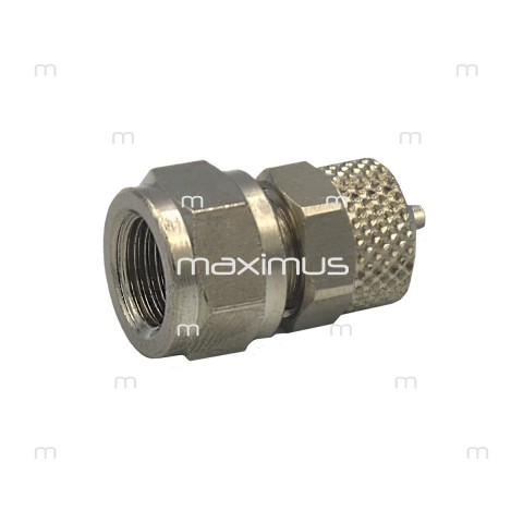 Aqua Breeze waterhose connector, screwed-in 1/8""
