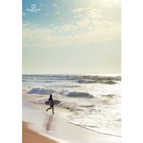 7 Suns Surfer decorative Poster