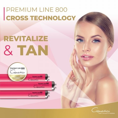 Cosmedico Premium Line Cross Technology R42 250/160W 0.3EU Tanning lamp