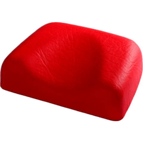 Soft headrest - red