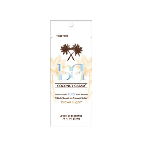 Brown Sugar Double Dark Coconut Cream 22ml Black Bronzer