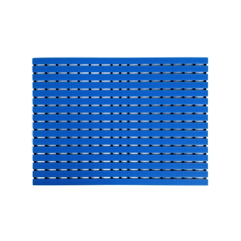 Long durability floor mat - blue