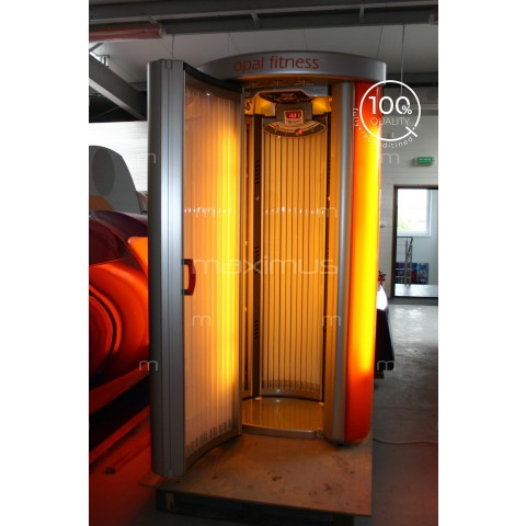 Vertical solarium Tanzi Opal Fitness Orange