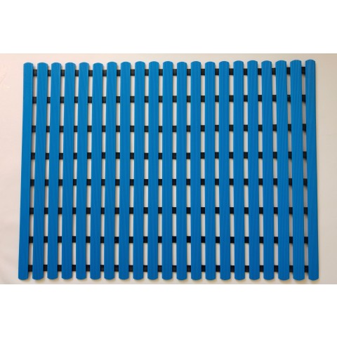 Long durability floor mat 80cm x 60cm - blue