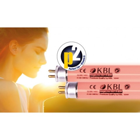 KBL megaSun ultimate 1863 O 80W p2 perfect tan + vitamin D (0.3W/m2) Tanning lamp