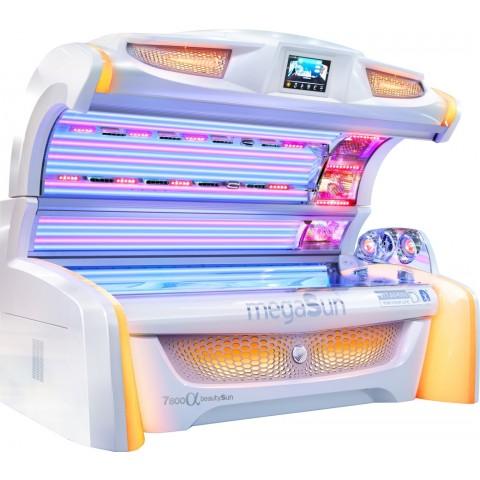 Sunbed megaSun 7800 Alpha beautySun
