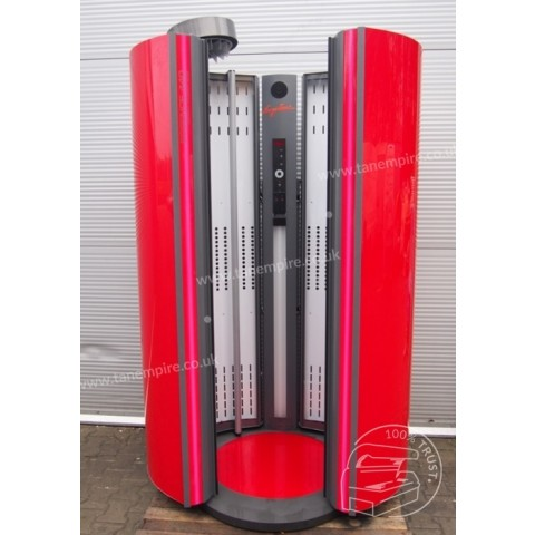 Vertical solarium Ergoline Essence 440 Scarlet Red