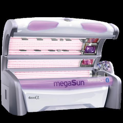 Sunbed megaSun 6800 Alpha smartSun