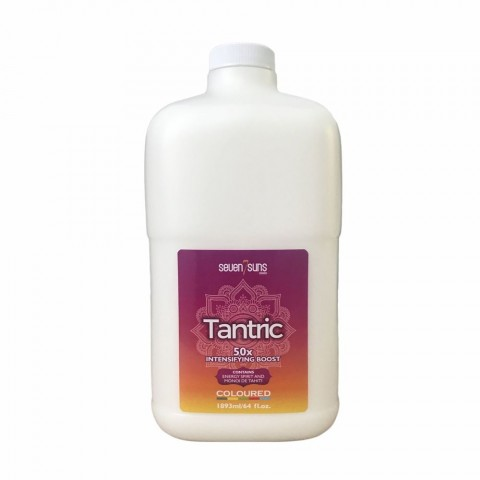 7suns Tantric 1893ml Tanning accelerator half gallon bottle with pump