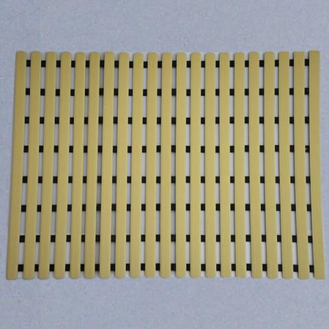 Long durability floor mat 80cm x 60cm - beige
