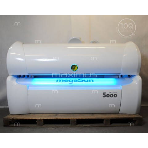 Sunbed megaSun 5000 Ultra Power CPI / white led