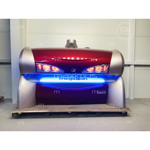Sunbed megaSun 6800 Ultra Power CPI Kir Royal