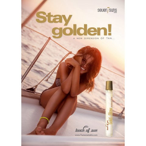 "Poster 7suns ""Stay Golden"""