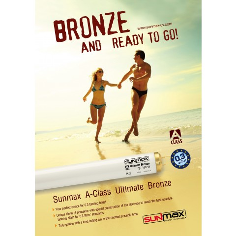"Poster Sunmax ""Bronze And Ready To Go"""