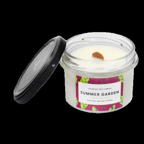 Soy candle SUMMER GARDEN 7suns