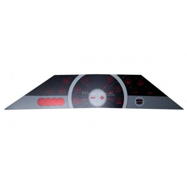 Foil - panel sticker for Ergoline Evolution Excellence