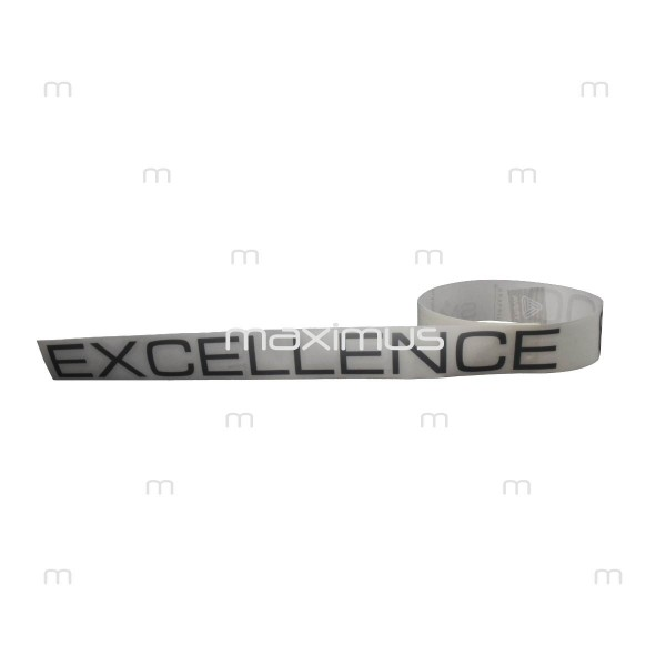 """Bottom blend sticker  """"Excellence 800 Turbo Power Climatronic"""" - grey"""