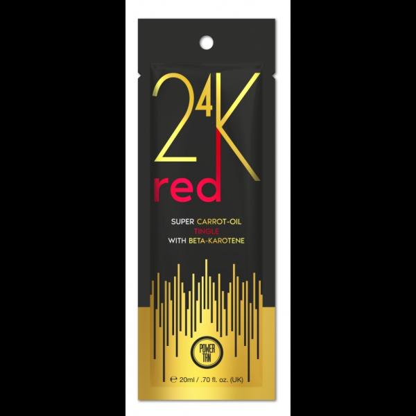 Power Tan 24K - Super Carrot Oil Red 20ml - New for 2020