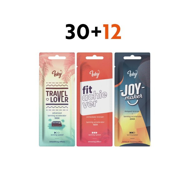 Inky sachets special package 30+12