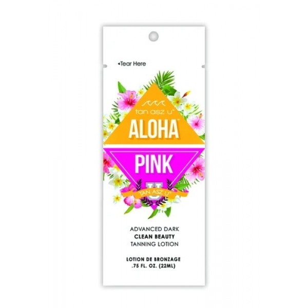 Tan Asz U ALOHA PINK 22ml Tanning lotion