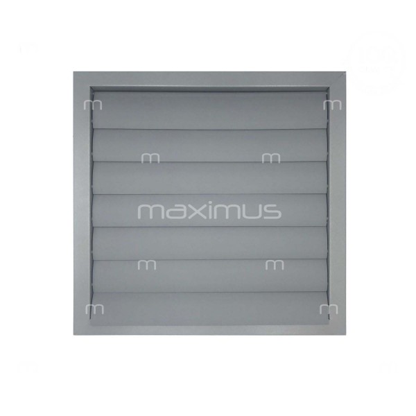 Ventilation grille with shutter 400x400