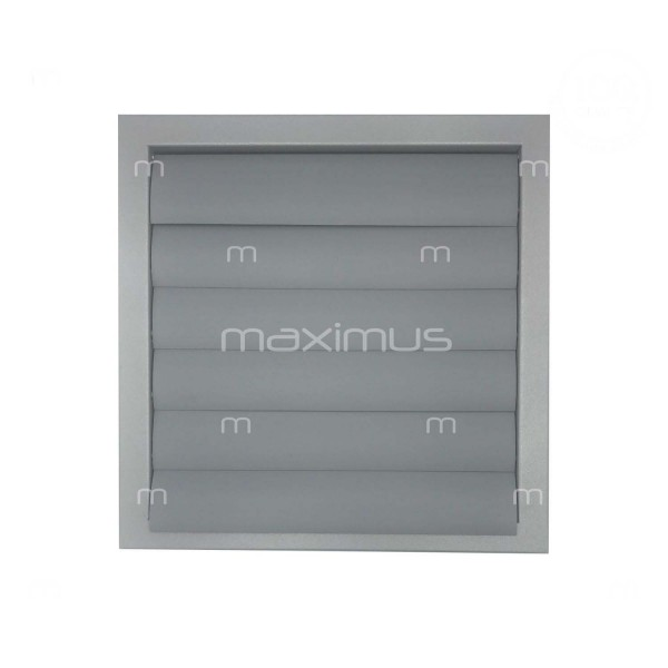 Ventilation grille with shutter 350x350
