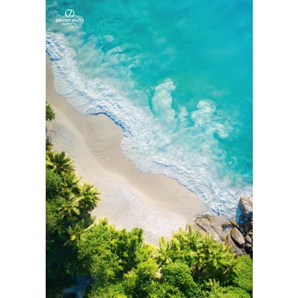 7 Suns Beach decorative Poster