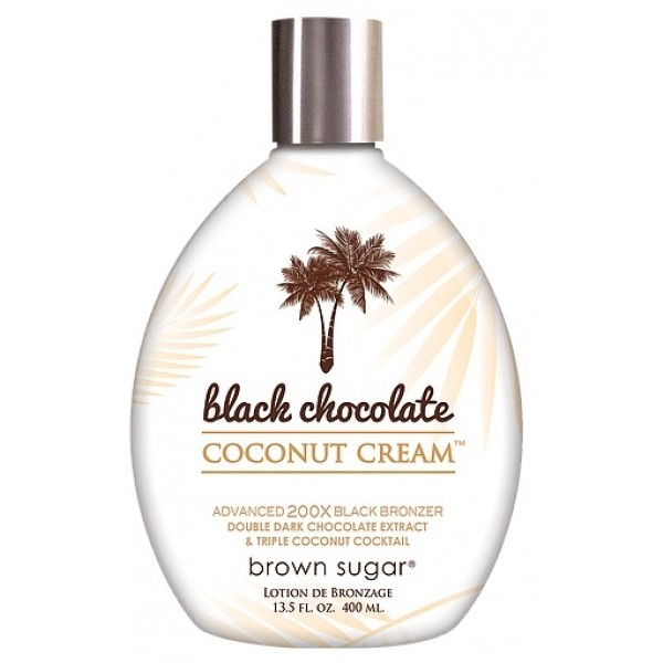 Brown Sugar Black Chocolate Coconut Cream 400ml Dark bronzer