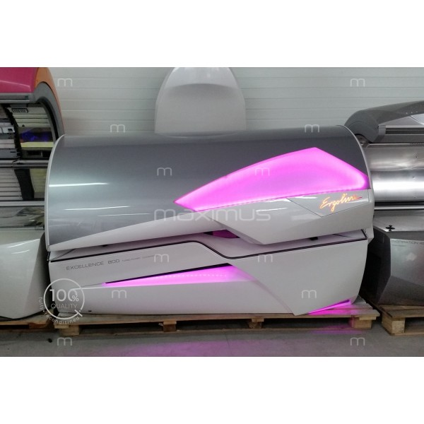 Sunbed Ergoline Excellence 800 Turbo Power White Led Color Motion