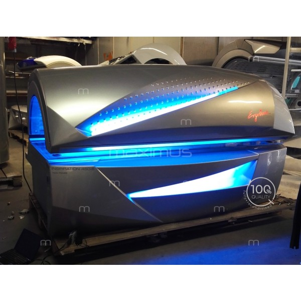 Sunbed Ergoline Inspiration 400 Twin Power Silver