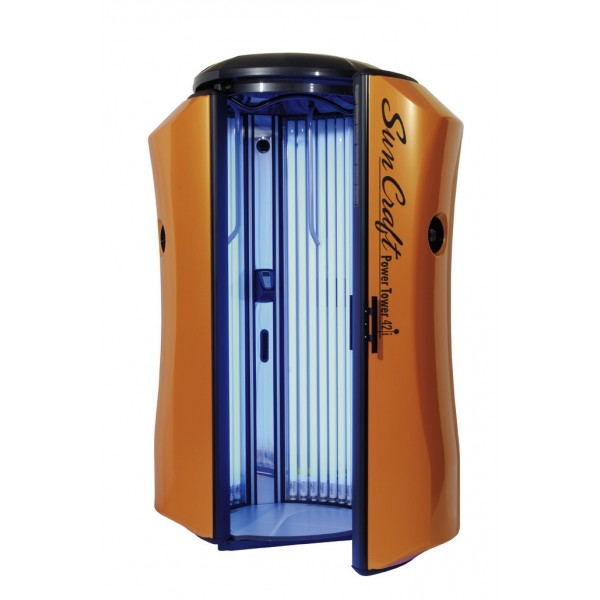 Vertical solarium New Technology Sun Craft Power Tower 42i Orange