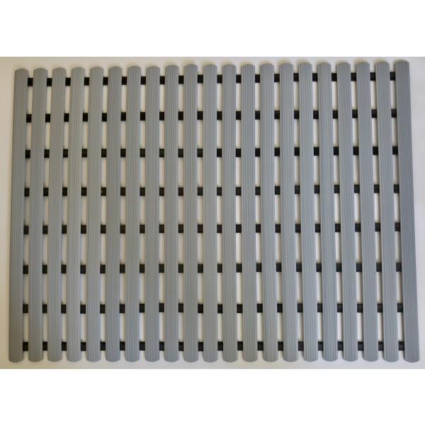 Long durability floor mat 80cm x 60cm - grey