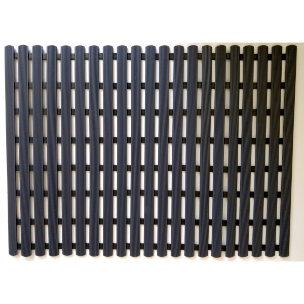 Long durability floor mat 80cm x 60cm - anthracite
