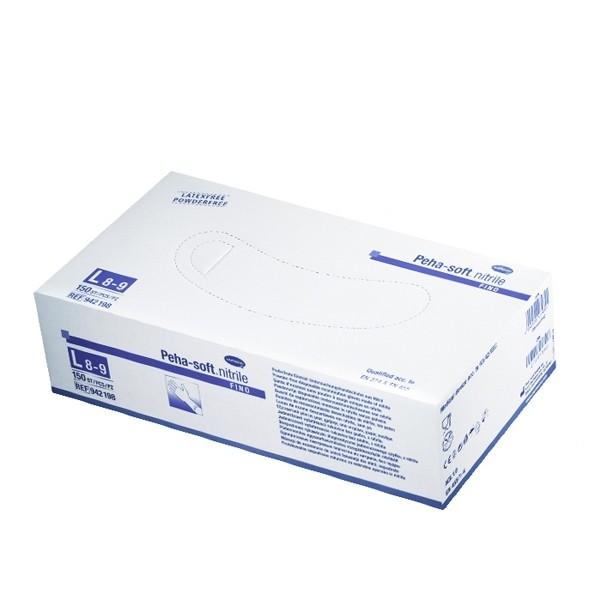 Peha-soft nitrile gloves 100 pcs. Size L.
