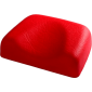 Soft headrest - red