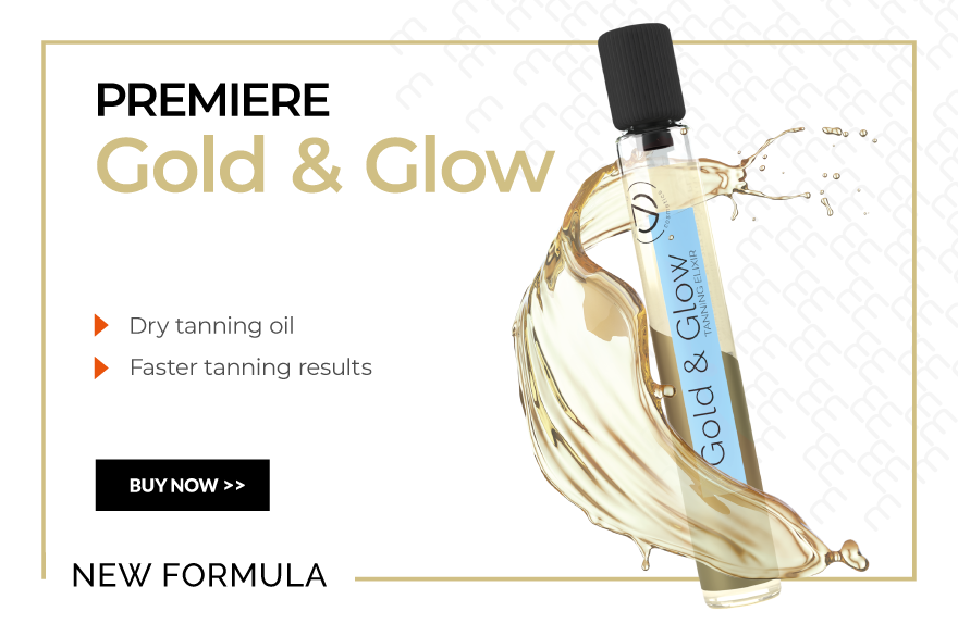 gold glow dry oil for tanning